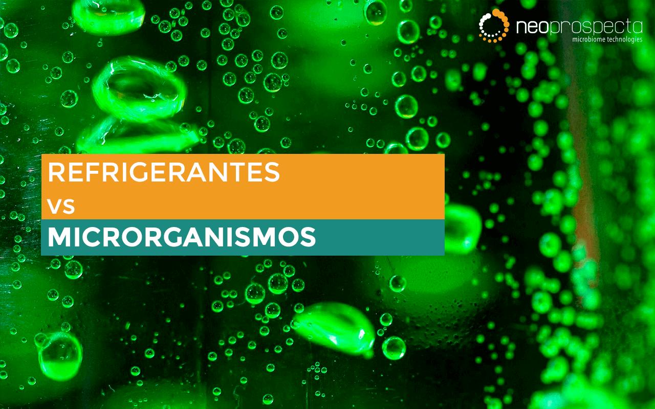 Refrigerantes vs Microrganismos