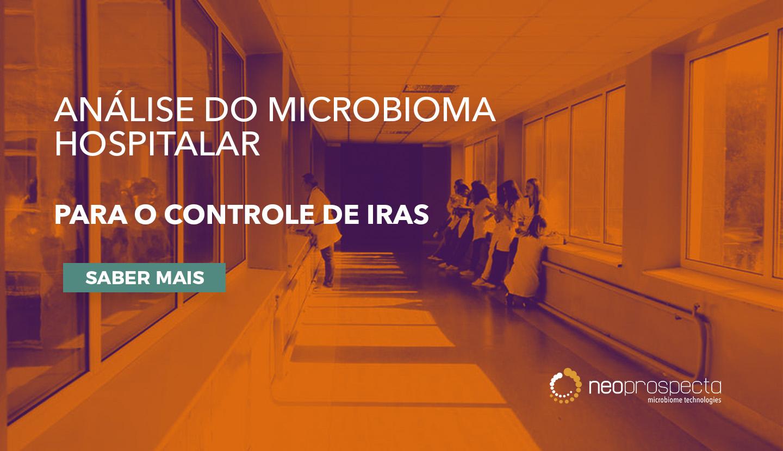 Análise do microbioma hospitalar para o controle de IRAS