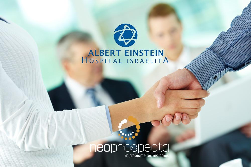 Hospital Albert Einstein faz parceria com Neoprospecta
