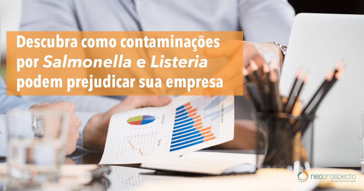 Descubra como contaminações por Salmonella e Listeria podem prejudicar sua empresa