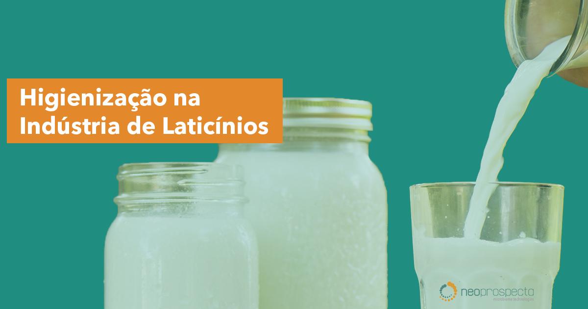 Higienização na Indústria de Laticínios