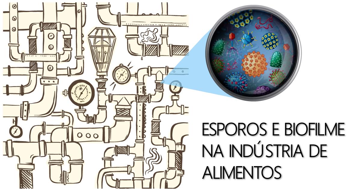 Esporos e biofilme na indústria de alimentos
