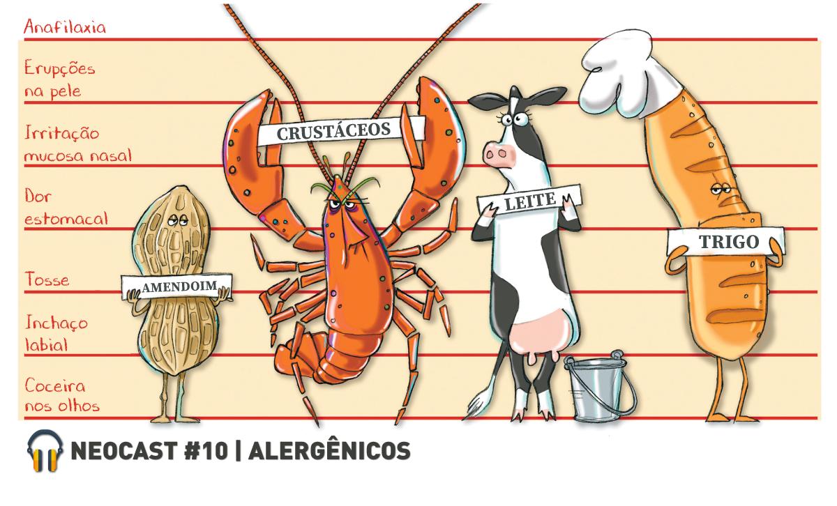 NeoCast #10 – ALERGÊNICOS | INDÚSTRIA DE ALIMENTOS
