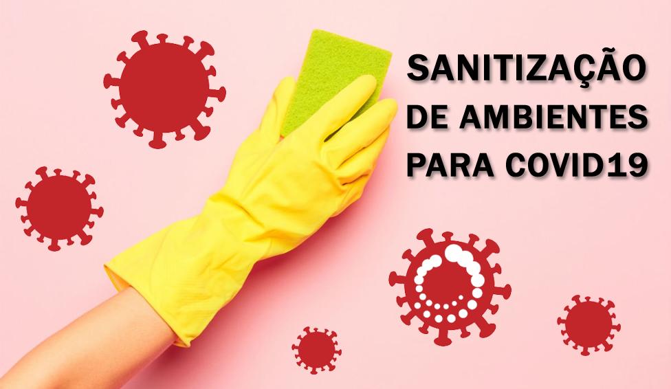 Como fazer a sanitização do ambiente caso um colaborador fique doente?