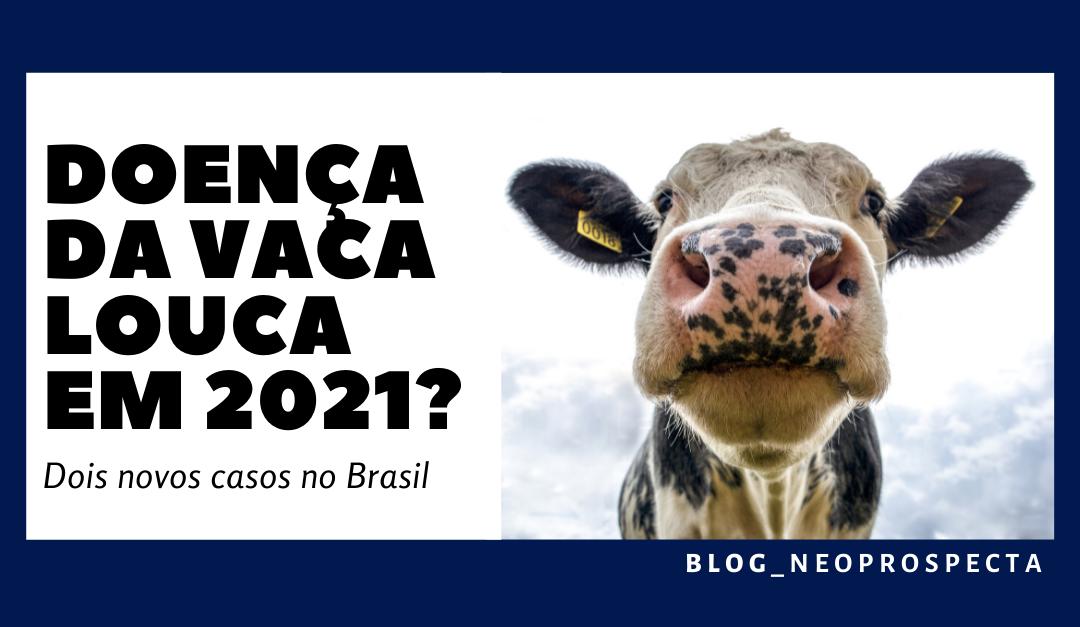 Doença da vaca louca em 2021? Dois novos casos no Brasil